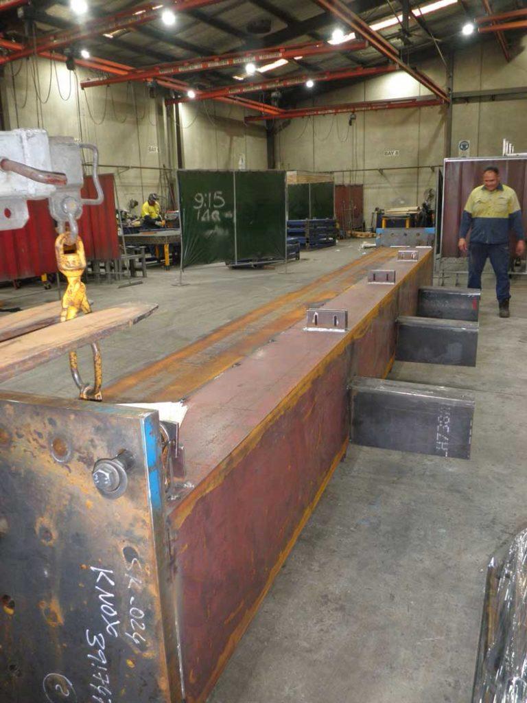 Big Metal Beam at Knox Engineering